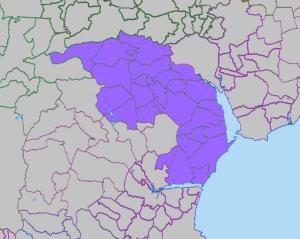 Kenn Deanery map