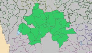 Okehampton deanery map