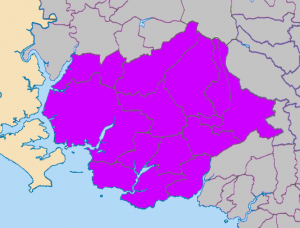 Ivybridge and Plymouth Deaneries Map
