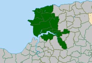 Barnstapkle Deanery map