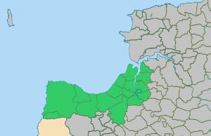 Hartland Deanery Map