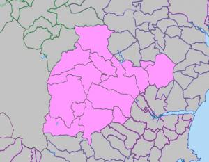 Moreton Deanery map