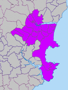Newton Abbot, Ipplepen and Torbay deaneries map