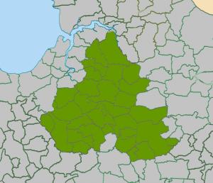 Torrington Deanery map